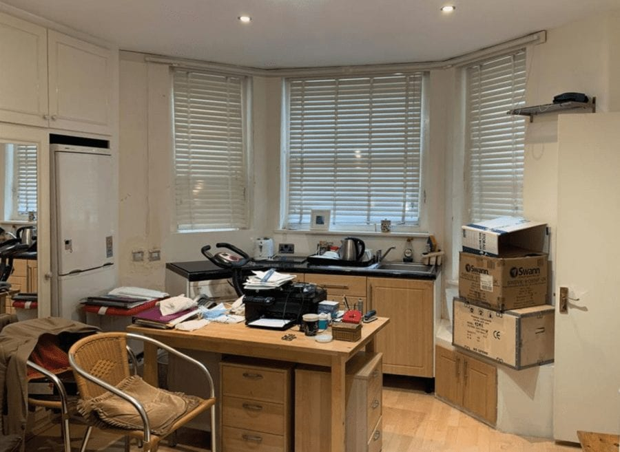 Windowless in South Ken – Windowless room for sale for £20,000 – Windowless property in Stanhope Gardens, South Kensington, SW7 goes to auction with a guide price of just £20,000; there is, of course, a catch – Second floor mezannine storage room at Habib House, 21 – 22 Stanhope Gardens, South Kensington, London, SW7 5QX, United Kingdom – To be sold by Barnard Marcus on 15th December 2020 with a guide of £20,000 ($26,400, €22,300 or درهم96,800).
