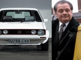 Only Fools and Golf Cabriolets – Ex Sir David Jason 'Del Boy' car for sale – 1987 Volkswagen Golf GTI Karmann cabriolet – nicknamed 'Rodney' – previously owned by 'Only Fools and Horses' actor Sir David Jason to be auctioned by Silverstone Auctions with an estimate of £18,000 to £22,000 ($23,700 to $28,900, €19,900 to €24,400 or درهم86,900 to درهم106,300) at their NEC Classic Live online auction on Saturday 14th November 2020.