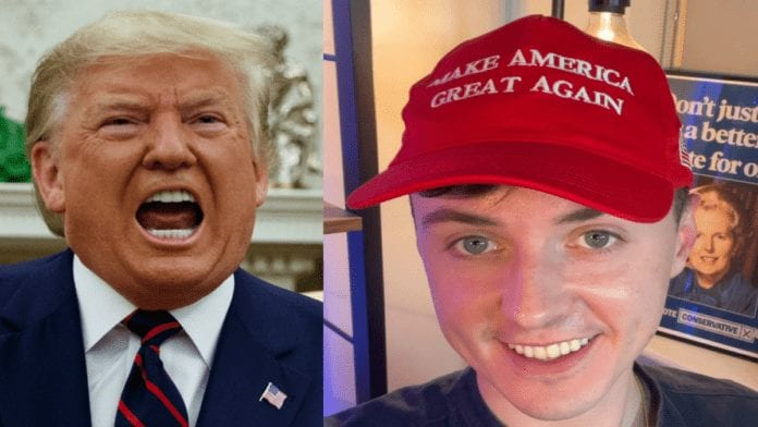 "Dopey Darren on Defeated Donald – Darren Grimes on Trump defeat – Dopey Darren Grimes claims Donald Trump will win again in 2024 and crazily announced ""Trumpism is alive and well."""