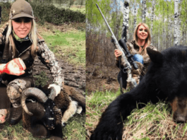 Ban The Bear Slayer – 10,000 Signatures on Petition Against Larysa Switlyk – As our petition to ban bear slaying barbarian Larysa Switlyk from Instagram soars past 10,000 signatures, it is time the social media outlet paid attention.