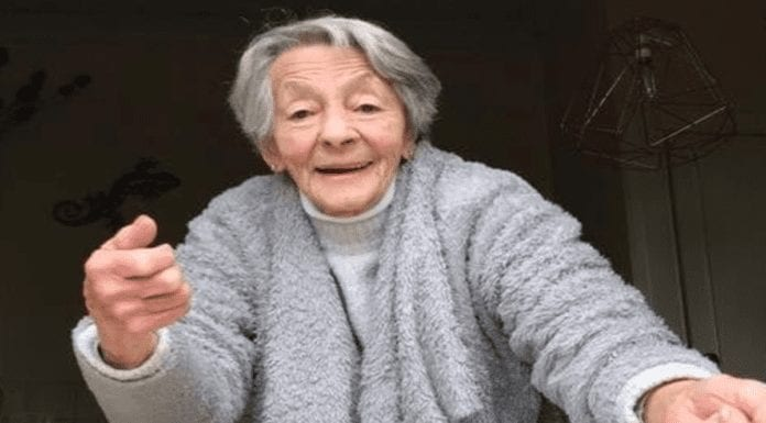 "Heroine of the Hour – Martini drinking 90-year-old Micheline Stephen – Ninety-year-old daily martini drinker Micheline Stephen of Cupar, Scotland is to be saluted for grabbing a robber and calling him ""a wee sh*te."""