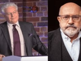 "Bombastic Basham Bashes Back – Brian Basham attacks John Sweeney – Brian Basham, PR peddler for mucky madam Ghislaine Maxwell, suggests 'Hunting Ghislaine' podcast host John Sweeney is a drunk and someone he ""despises."""
