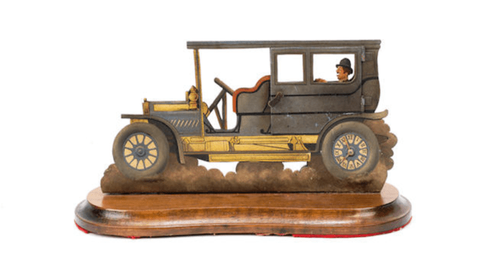 Erecting a C(l)ock – Bonhams auction smutty Benny Hill-esque clock – WARNING: EXPLICIT – Chi-chi auction house auction smutty Benny Hill-esque novelty automotive clock; it'll be erecting a lot of interest a their 14th December 2020 online automobilia sale.