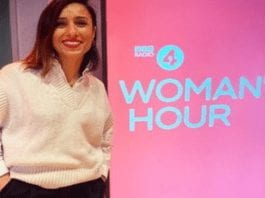 "Heroine of the Hour 2021 – Anita Rani – Gin loving radio presenter – Anita Rani arrives as a BBC Radio 4 'Woman's Hour' morning show presenter and announces: ""If you've had enough, pour yourself a G&T, you have my permission."""
