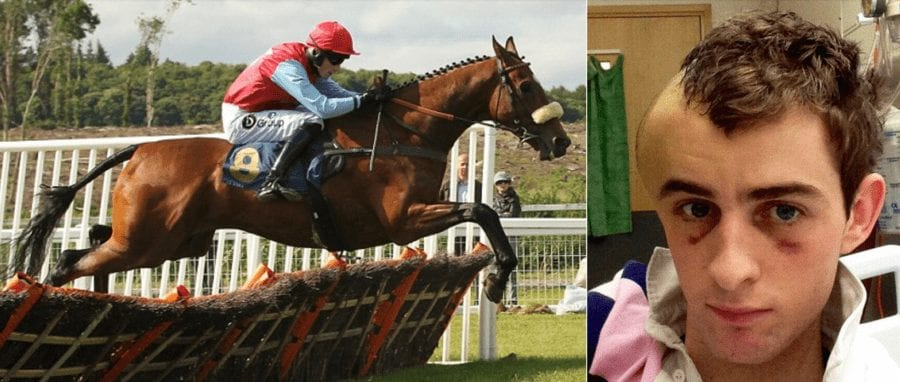 """Hero of the Hour 2021 – 'Miracle Man' Brian Toomey – Jockey who """"died for six seconds"""" in 2013 Brian Toomey set to make a remarkable return to racing as a trainer in 2021."""