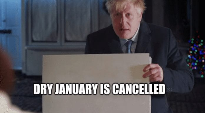 Dry January 2021 CANCELLED – Ignore #DryJanuary, do #DryGinuary – At a time of lockup lunacy in early 2021, the last thing we need is the marketing nonsense that is 'Dry January' forced upon us.