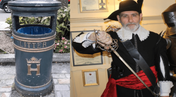 'Henley's 9/11' – BinGate (Part II) – David Eggleton NOT happy – Henley councillors row about 'heritage' bins and solar bins rumbles on; temper tantrum prone 'Cavalier councillor' Dave Eggleton still isn't satisfied.