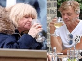 "Modest Madeley (And 'Mummy' Finnigan) – Richard and Judy – Alleged shoplifter and 'modern day Dorian Gray' Richard Madeley attempts to convince 'Mirror' readers that his relationship with alleged old soak 'mummy' Judy Finnigan is ""normal."""
