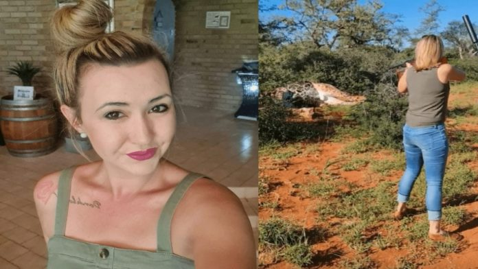 Merelize The Monster 2021 – 25k sign our petition against giraffe killer – As our petition seeking Facebook banish Merelize van der Merwe tops 25,000 signatures in less than a week, this giraffe slaying monster sickly shares a video of her kill on YouTube.