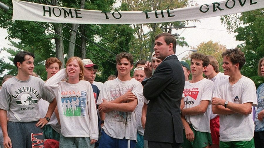 """The Prince & The Paedos – Prince Andrew and paedo priest Father Keith Gleed – EXCLUSIVE – As his spin doctor """"steps down,"""" Prince Andrew's """"buried"""" links to paedophiles other than Jeffrey Epstein is again highlighted."""