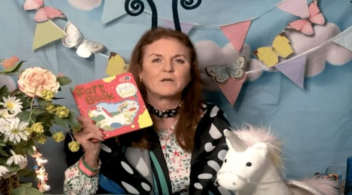 Farting Fergie – Sarah Ferguson reads a book about farting on YouTube – Sarah Ferguson gets overexcited over a farting book, but still hasn't declared if she's repaid a loan from paedo Jeffrey Epstein.