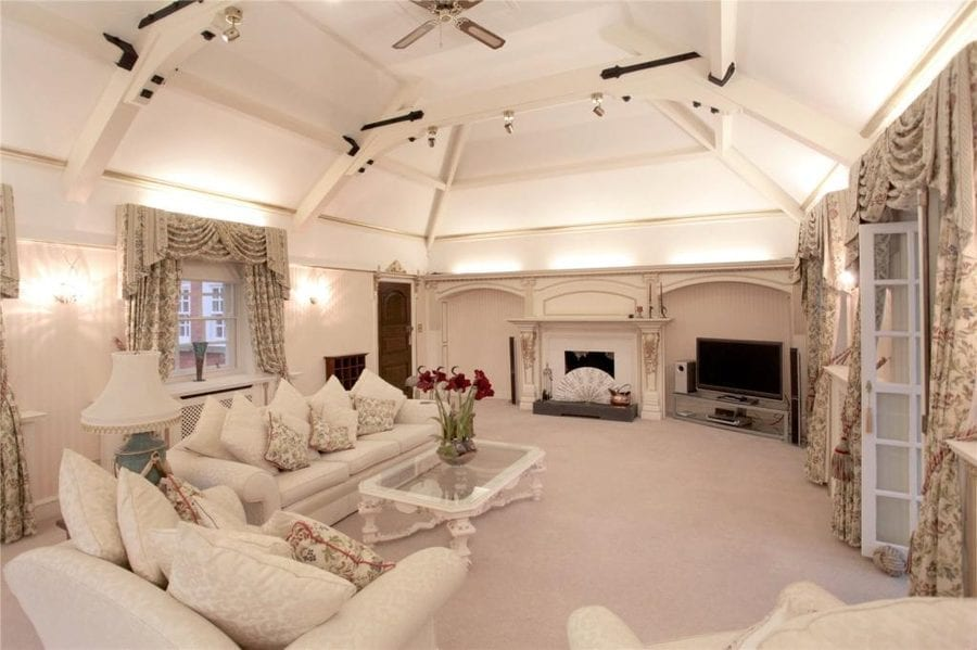 An English McMansion Mess – Deansgreen Hall, Crouchley Lane, Lymm, Cheshire, WA13 0TL, United Kingdom for sale through Jackson-Stops for £6 million – Gargantuan Cheshire 'McMansion' once owned by a BBC Sports Personality turned tax fraudster for sale; it's beyond gaudy.