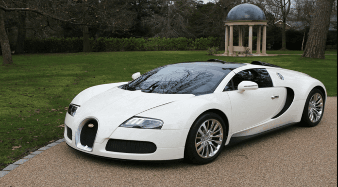 A BIG Bugatti – £1.55m for 2013 Bugatti Veyron Grand Sport – Theodora Ong lusts after a 2013 Bugatti Veyron Grand Sport that currently sports the registration plate 'BIG 3' – For sale through Graeme Hunt for £1.55 million ($2.14 million, €1.79 million or درهم7.88 million).