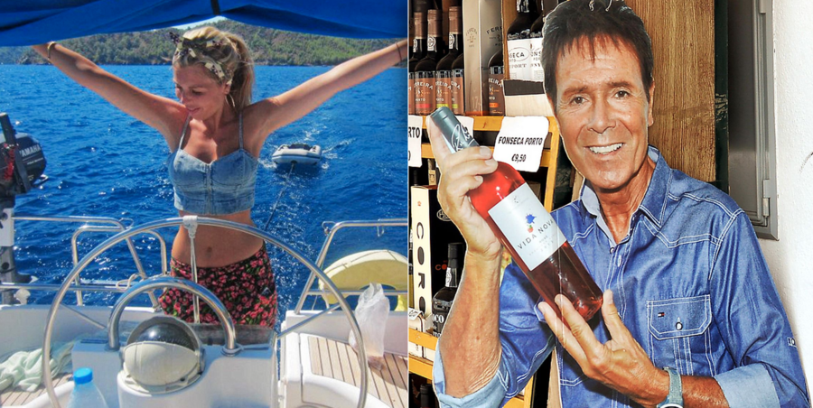 Creepy Cliff & Costly Carrie 2021 – Cliff Richard & Carrie Symonds – Will wine chucking Boris Johnson baby mama Carrie Symonds go the same way as the 'Carrie' of creepy crooner Sir Cliff Richard's 1980s song?