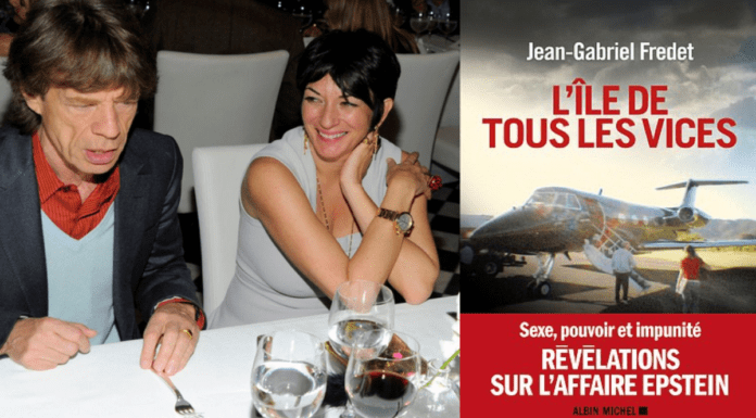 Maxwell Booked 2021 – Ghislaine Maxwell sues over 'Vice Island' ('L'île de tous les vices: Sexe, pouvoir et impunité, révélations sur l'affaire') book by Jean-Gabriel Fredet, published by Albin Michel – As she is quite deservedly denied bail for a FOURTH time, mucky madam Ghislaine Maxwell sues the publishers of a book about her and Jeffrey Epstein; we respond by urging readers to buy 'Vice Island' now.