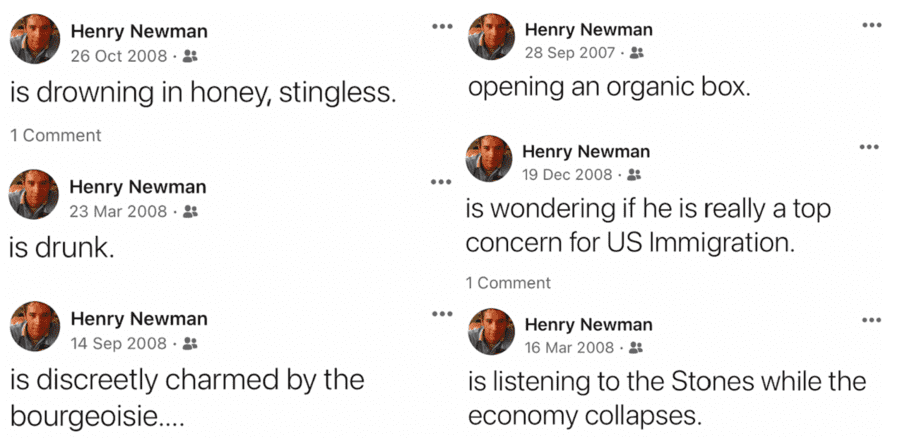 """Who REALLY is Henry Newman? Alleged 'Chatty Rat' with a liking for organic boxes – Whilst a few newspapers have delved into his political past, we ask: """"Who REALLY is the bestie of Carrie Symonds and alleged 'Chatty Rat' Henry Newman?"""" Boris Johnson, Michael Gove, Dominic Cummings, Francis Maude, Conservative, Tory, Vote Leave."""