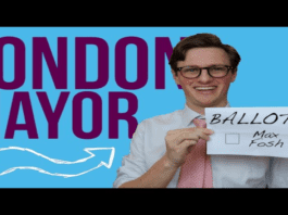 Flushing Out Max Fosh 2021– Interview with wannabe Mayor of London Max Fosh – Nikolay Kalinin asks YouTube star Max Fosh about why he decided to run as a candidate in the 2021 London mayoral elections.