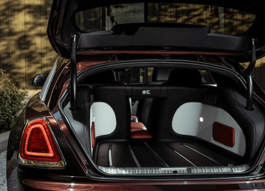 The Spectre Shooting Brake – 1 of 1 Rolls-Royce Wraith shooting brake – 2015 Rolls-Royce Wraith converted to a shooting brake by automotive genius Niels van Roij for sale for 157% more than it originally cost – Bonhams at their 'Les Grandes Marques à Monaco' sale in Monte Carlo on 23rd April 2021 with an estimate of £320,000 to £480,000 ($440,000 to $660,000, €370,000 to €550,000 or درهم1.6 million to درهم2.4 million).