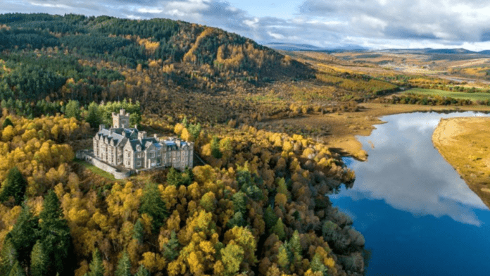 Cash Consuming Carbisdale Castle – Carbisdale Castle, Culrain, Ardgay, Sutherland, IV24 3DP, Scotland, United Kingdom for sale for £1.5 million ($2.1 million, €1.7 million or درهم7.6 million) through Strutt & Parker on behalf of Faro Capital – Vast Scots Baronial mansion Carbisdale Castle – nicknamed 'The Castle of Spite' – goes on sale for sum 97% lower than it cost to build in the 1900s and 25% less than its 2010 renovation cost.