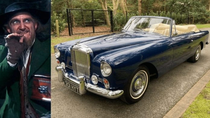 Fagin's Bentley – Ex-Ron Moody 1961 Bentley S2 Continental for sale – 1961 Bentley S2 Continental drophead coupé owned by Golden Globe award winning actor Ron Moody – best known as 'Fagin' in 'Oliver!' – for sale for 329% more than it sold for in 2014 after restoration. Offered by Frank Dale & Stepsons for £295,000 ($413,000, €339,000 or درهم1.5 million).