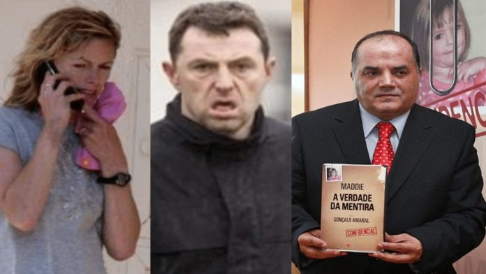 Kate and Gerry McCann, Goncalo Amaral
