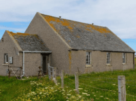 Earn From The Lord – £34k for church hall that could earn £300 per night – Former church hall on the Isle of Lewis to be sold for just £34,000 in spite of the fact that it could earn the buyer £300 per night – Lionel Mission Hall, Lionel, Barvas, Isle of Lewis, Scotland, HS2 0XD, United Kingdom to be sold by Future Property Auctions on 7th May 2021.