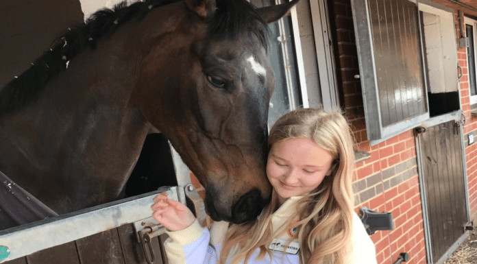 """Heroine of the Hour 2021 – Young racing journalist Samantha Martin – 16-year-old Samantha Martin's enthusiasm for horse racing and her involvement in the racing site """"for young people, by young people"""" 'Rein It In' is captivating."""