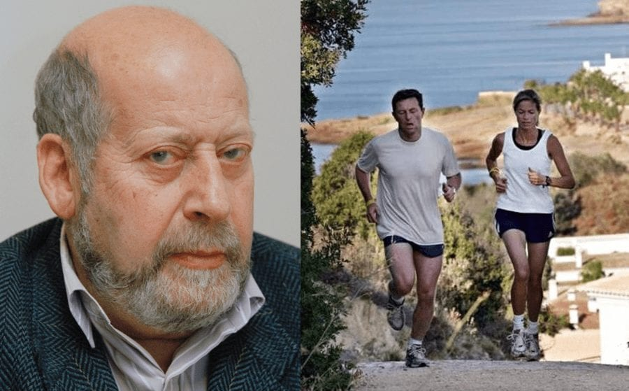Paedophile Sir Clement Freud, Gerry and Kate McCann running