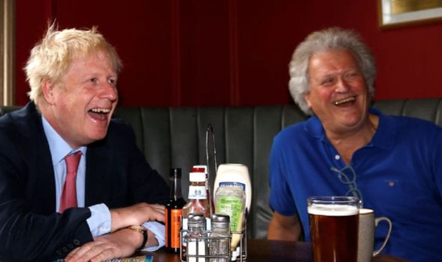 Dim Martin 2021 – Tim Martin now wanting EU migrants is laughable – Nikolay Kalinin mocks Brexiteer and founder of Wetherspoons Tim Martin for now wanting EU migrant workers; he relabels the champagne, social media and dog hater 'Dim Martin'
