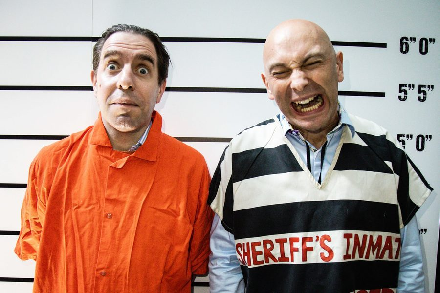 Matthew Steeples and Shaun Attwood at CimeCon 2021